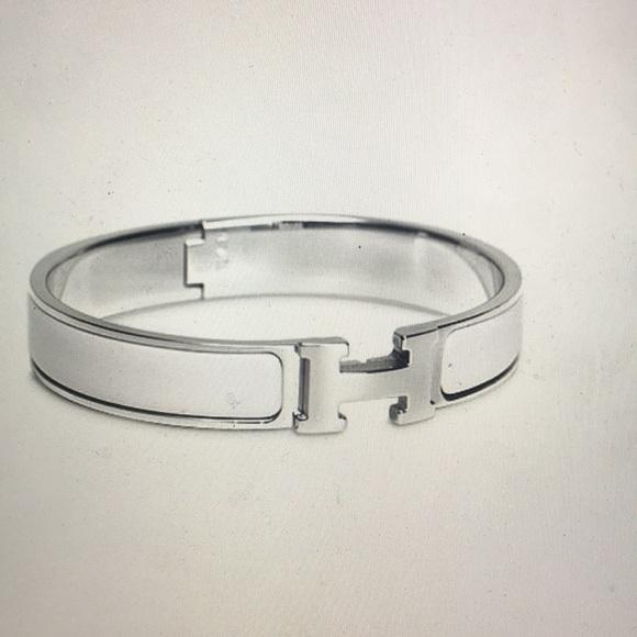 d0d899b4c32 Hermes Jewelry | Clic H Narrow Bracelet Barely Worn | Poshmark